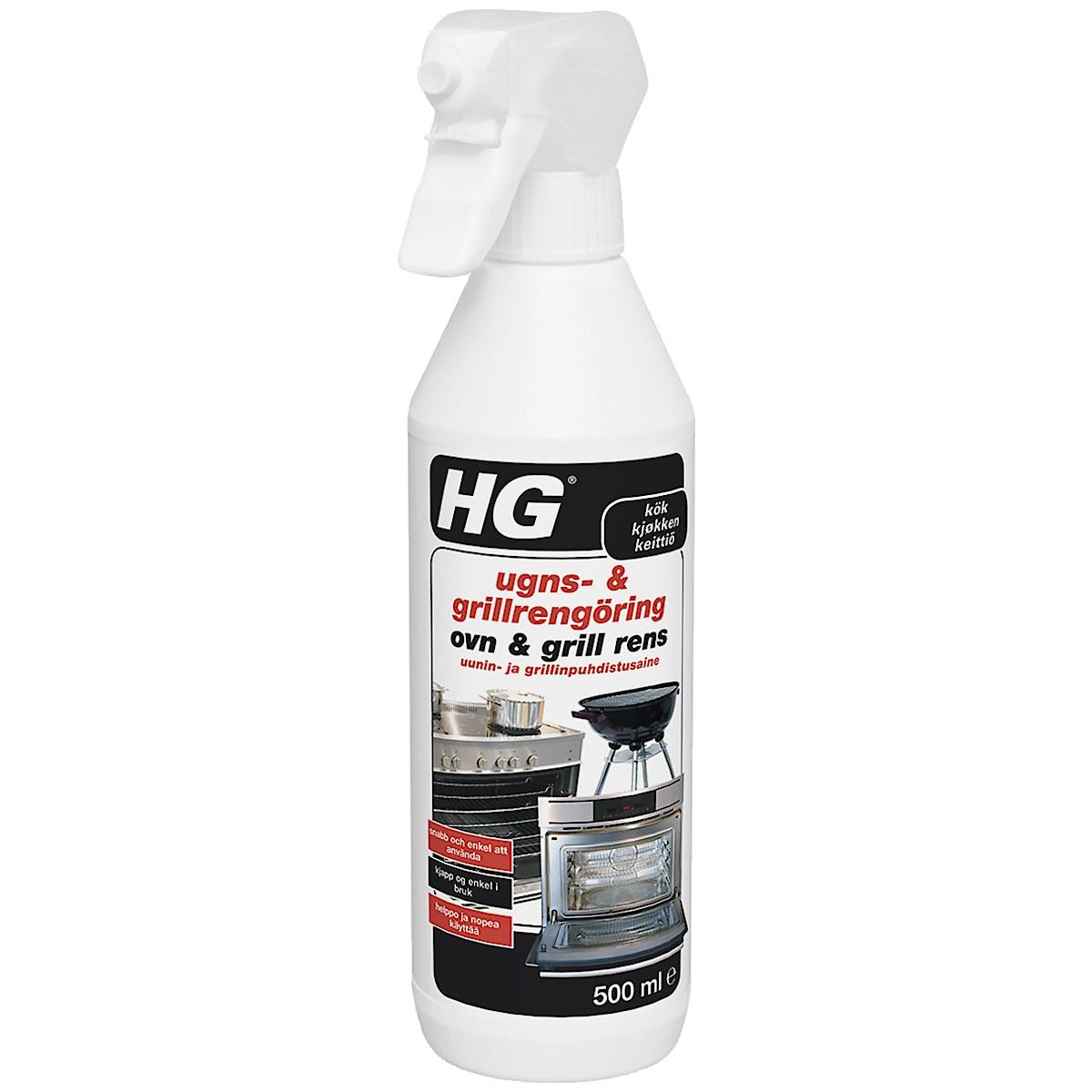 Ugn- och grillrengöring HG