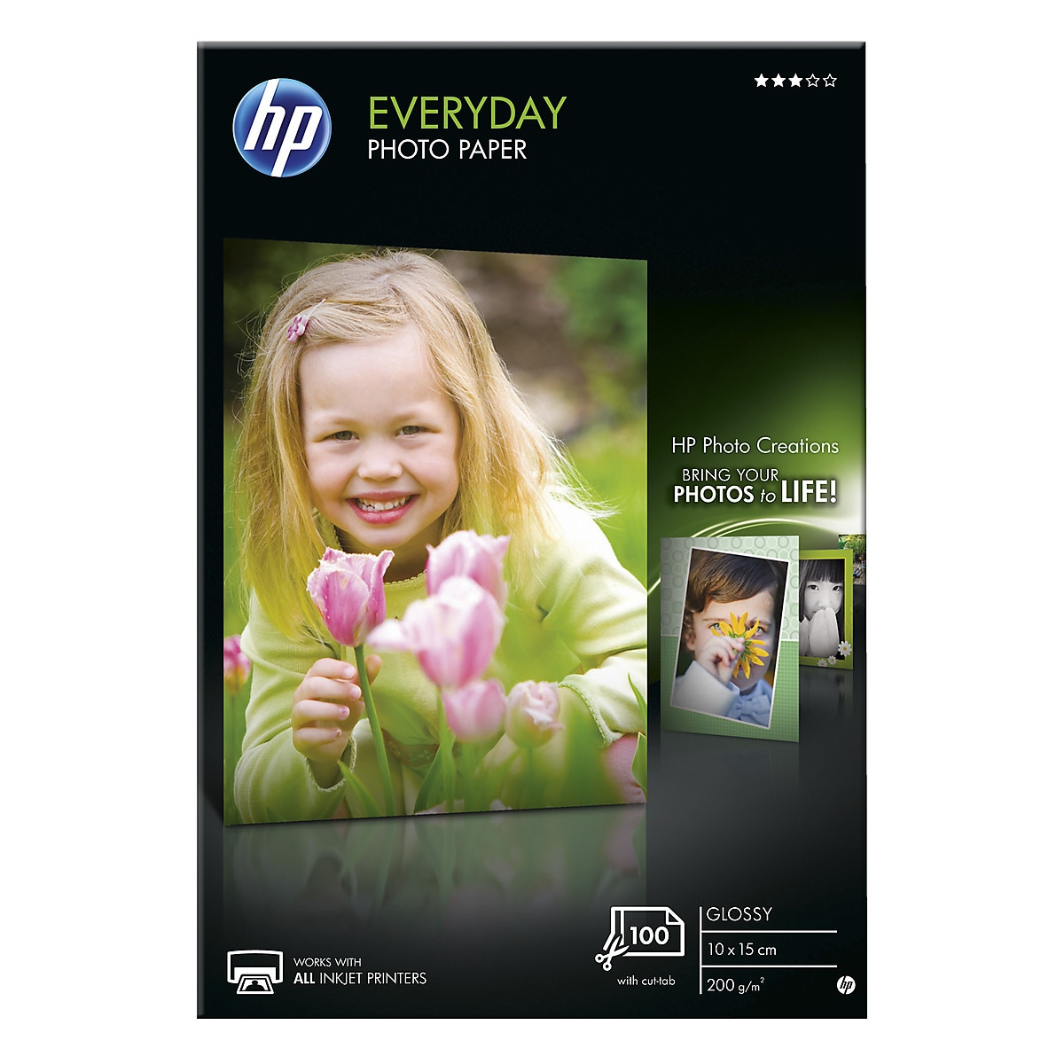 Fotopapper 10×15 cm HP Everyday photo paper Glossy