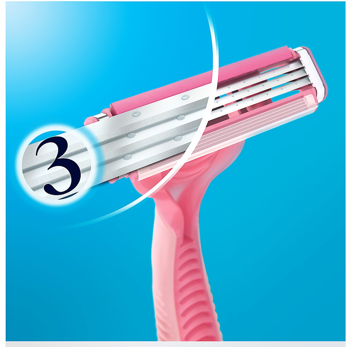 Gillette Simply Venus 3 barberhøvel, 4 stk.