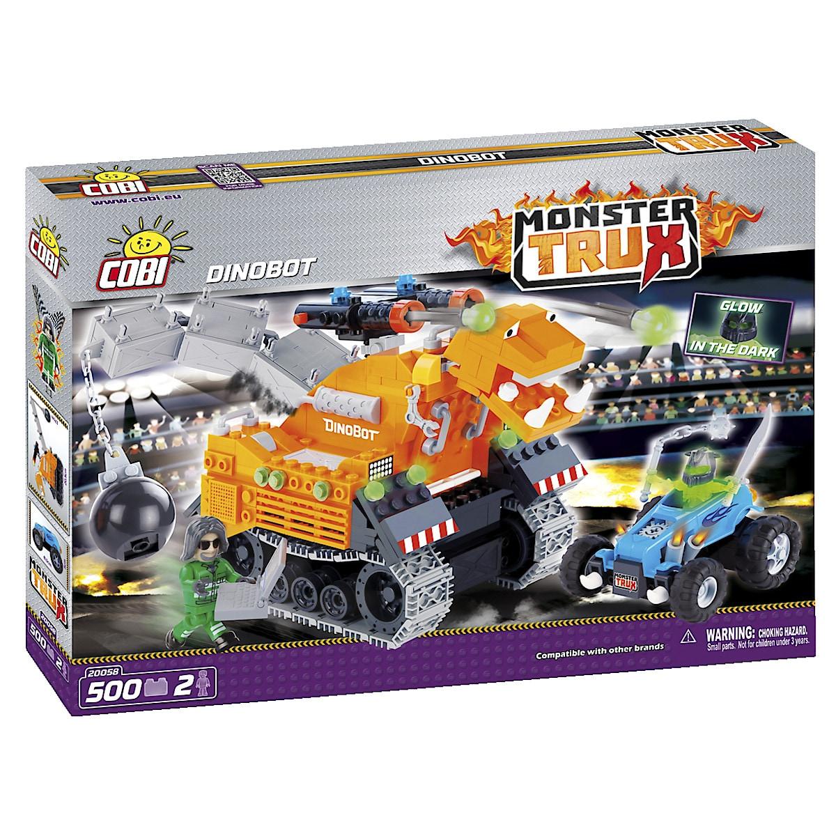Byggklossar monstertruck dino, Cobi