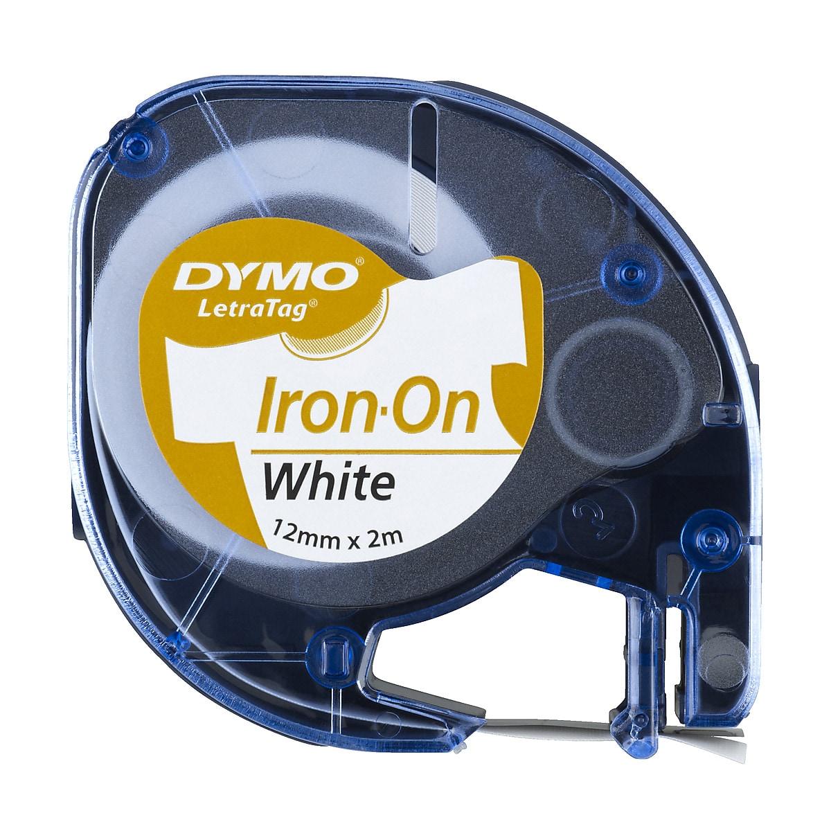Märkband tygetiketter Dymo LetraTag Iron-on