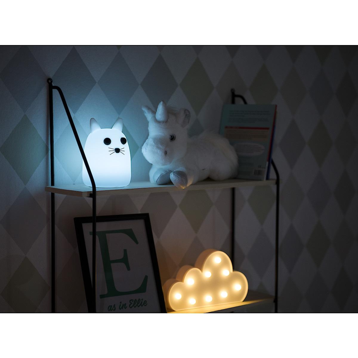 Laddningsbar nattlampa