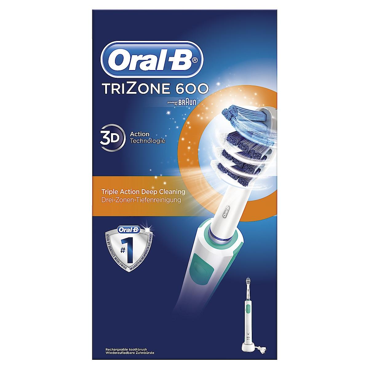 Sähköhammasharja Oral-B TriZone 600