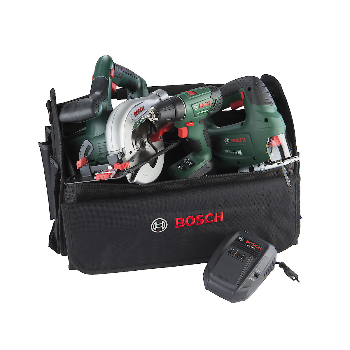 Verktygspaket Bosch Power for ALL 18 V