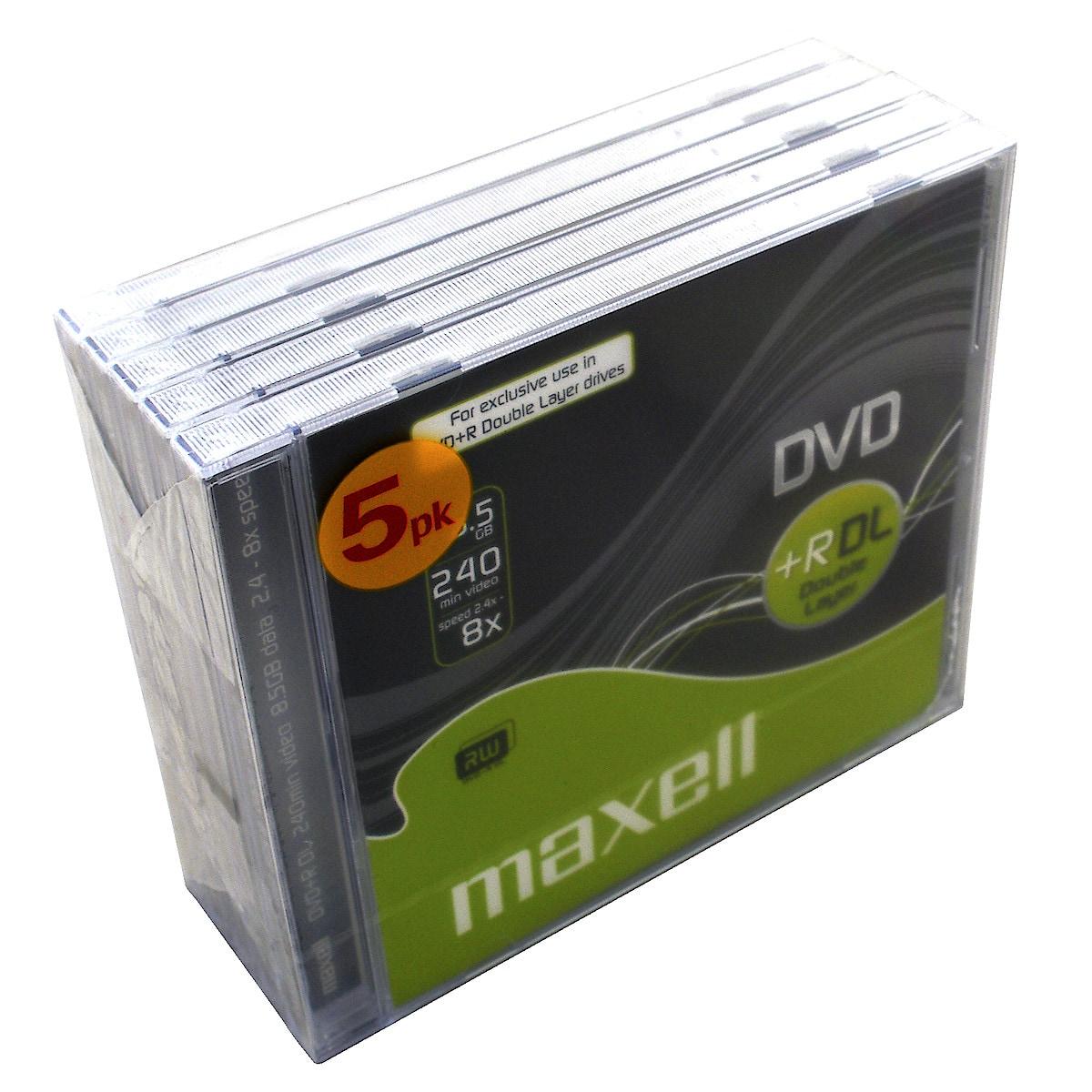 DVD+R DL 8,5 GB