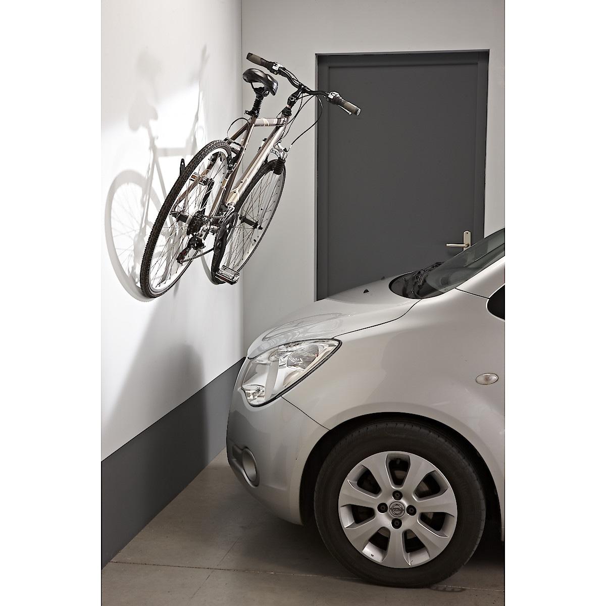 Seinäkoukku polkupyörälle