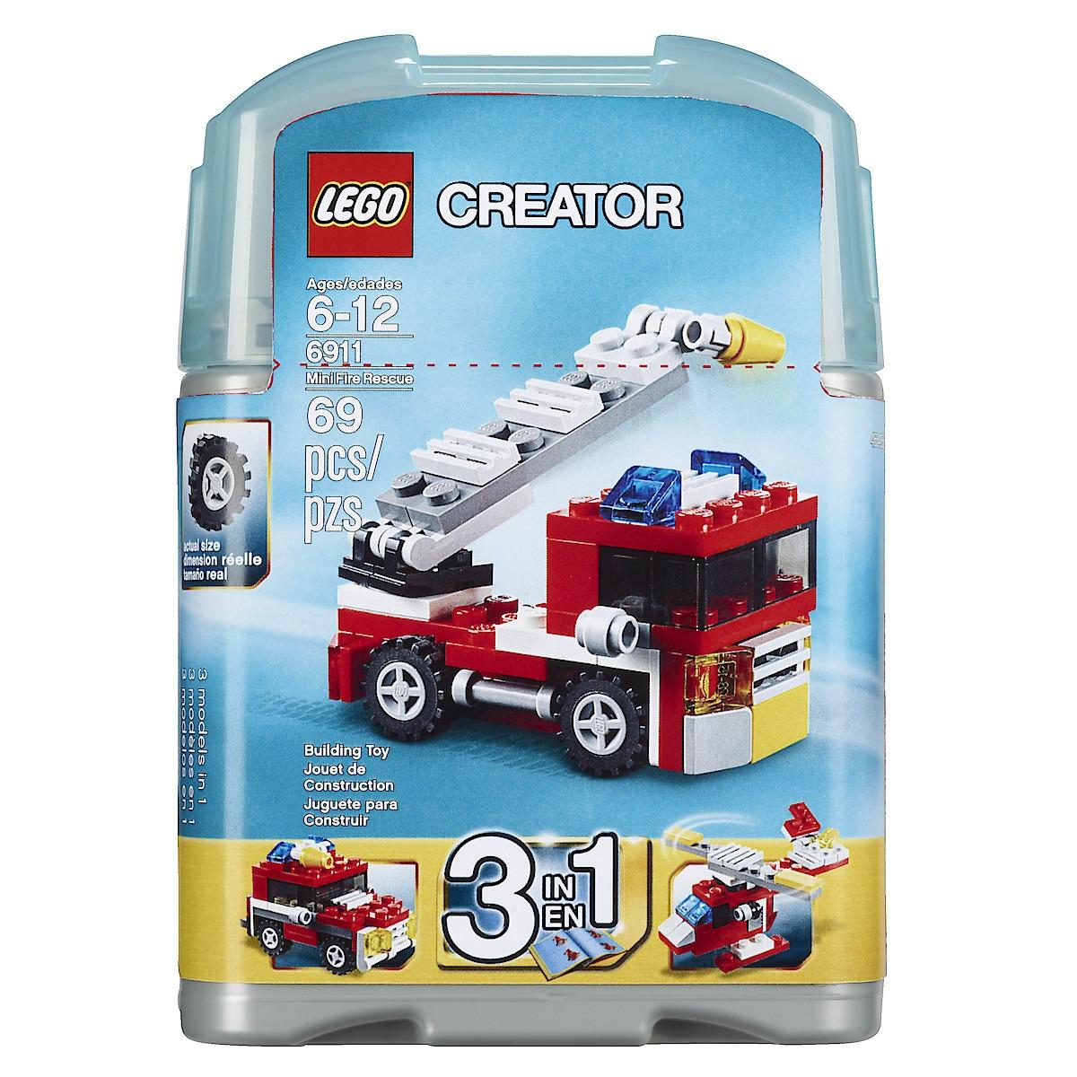 Mini Feuerwehrwagen Lego Creator