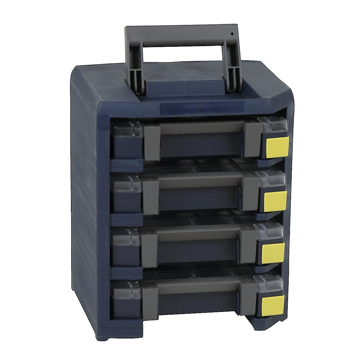 Förvaringslåda Handyboxxser 4x4x4, Raaco