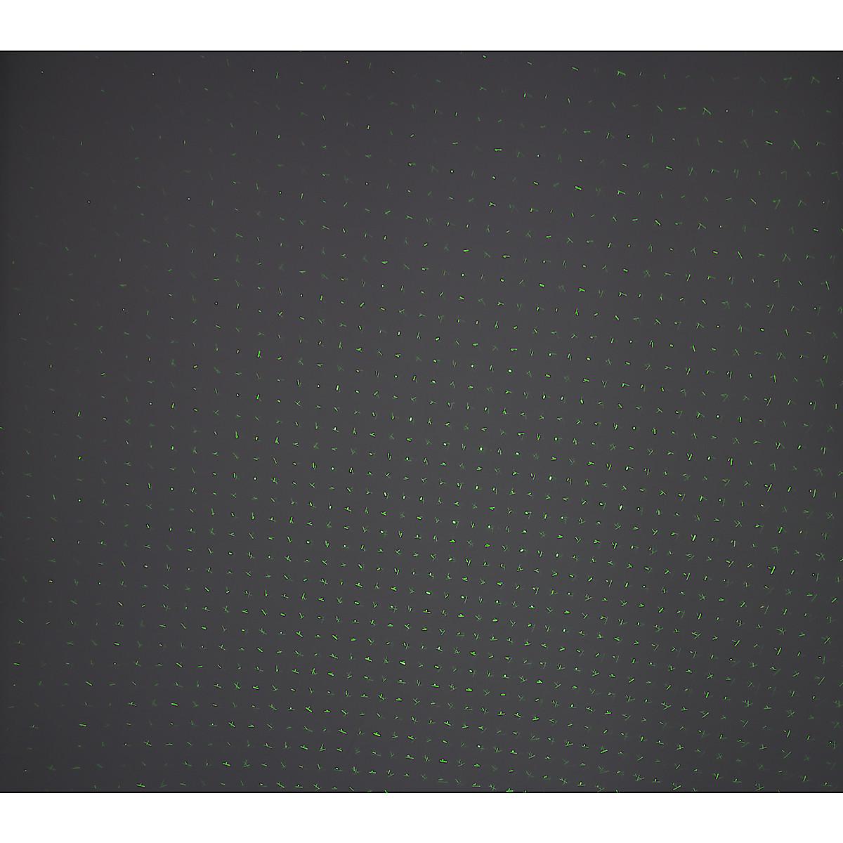 Laserprojektori ulkokäyttöön