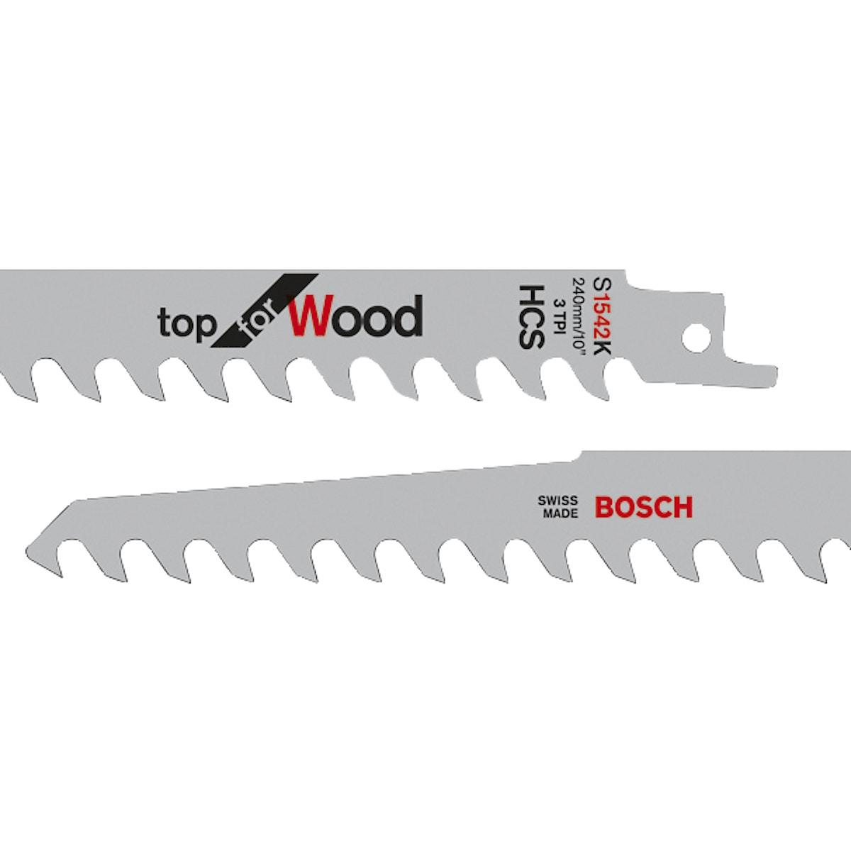 Tigersågblad HCS S1542K Bosch