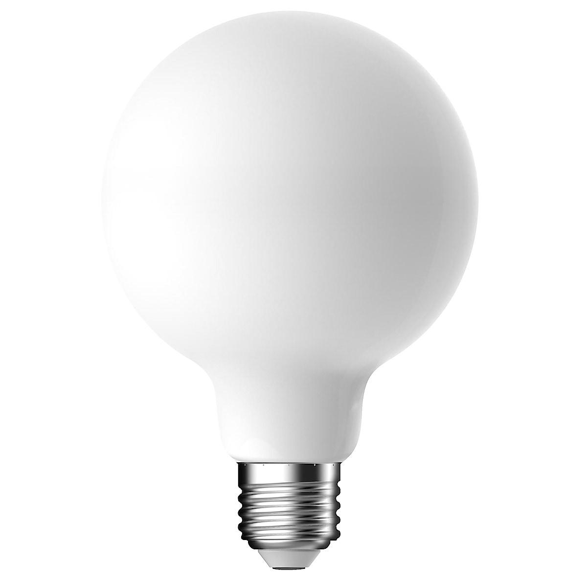 Dimbar dekorationslampa LED Opal E27 Northlight
