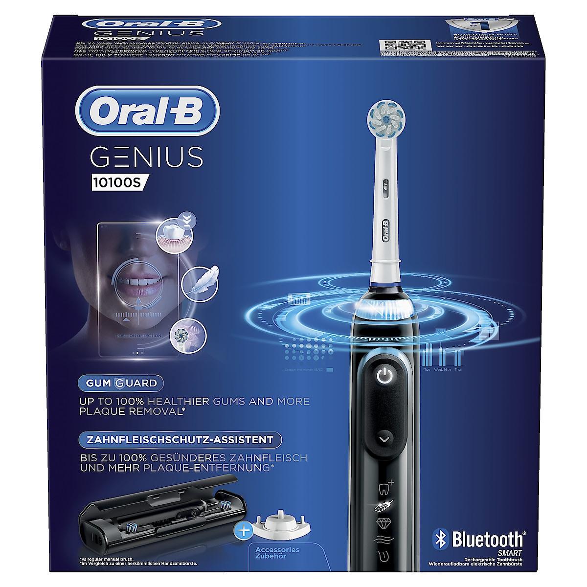 Oral-B Genius 10100S Black, eltannbørste