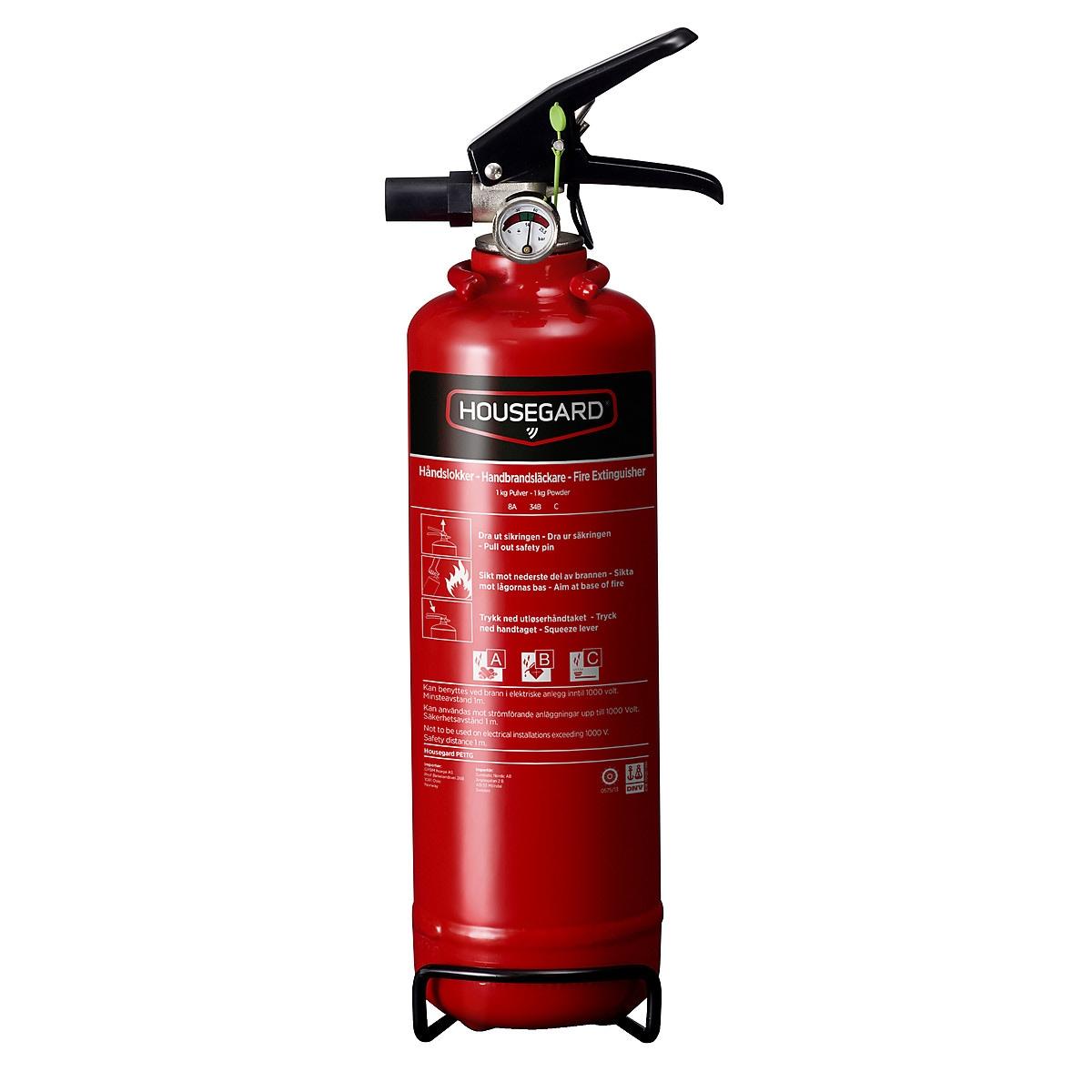 Housegard brannslukker 1 kg