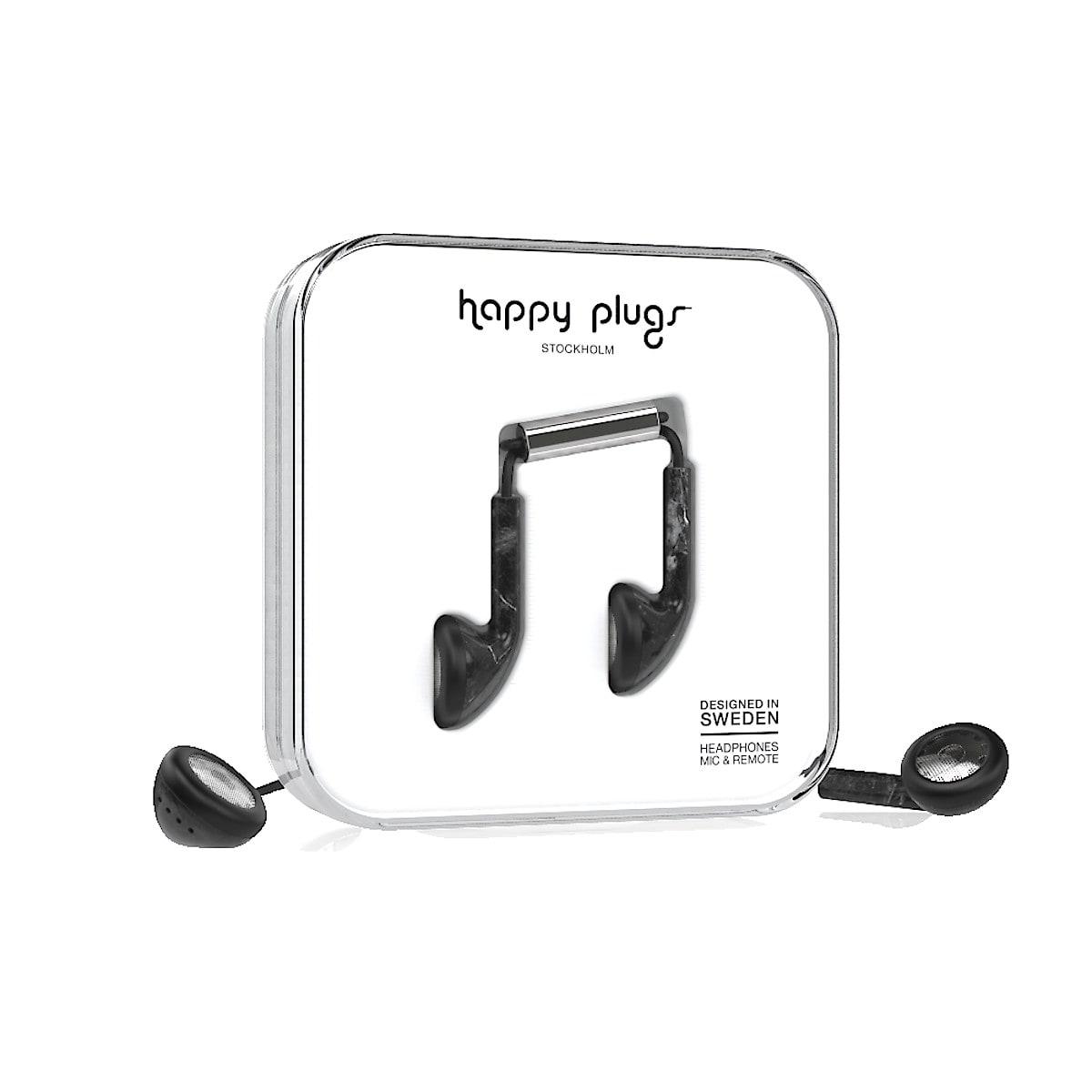 Hörlurar med mikrofon, Happy Plugs Earbud Unik Edt