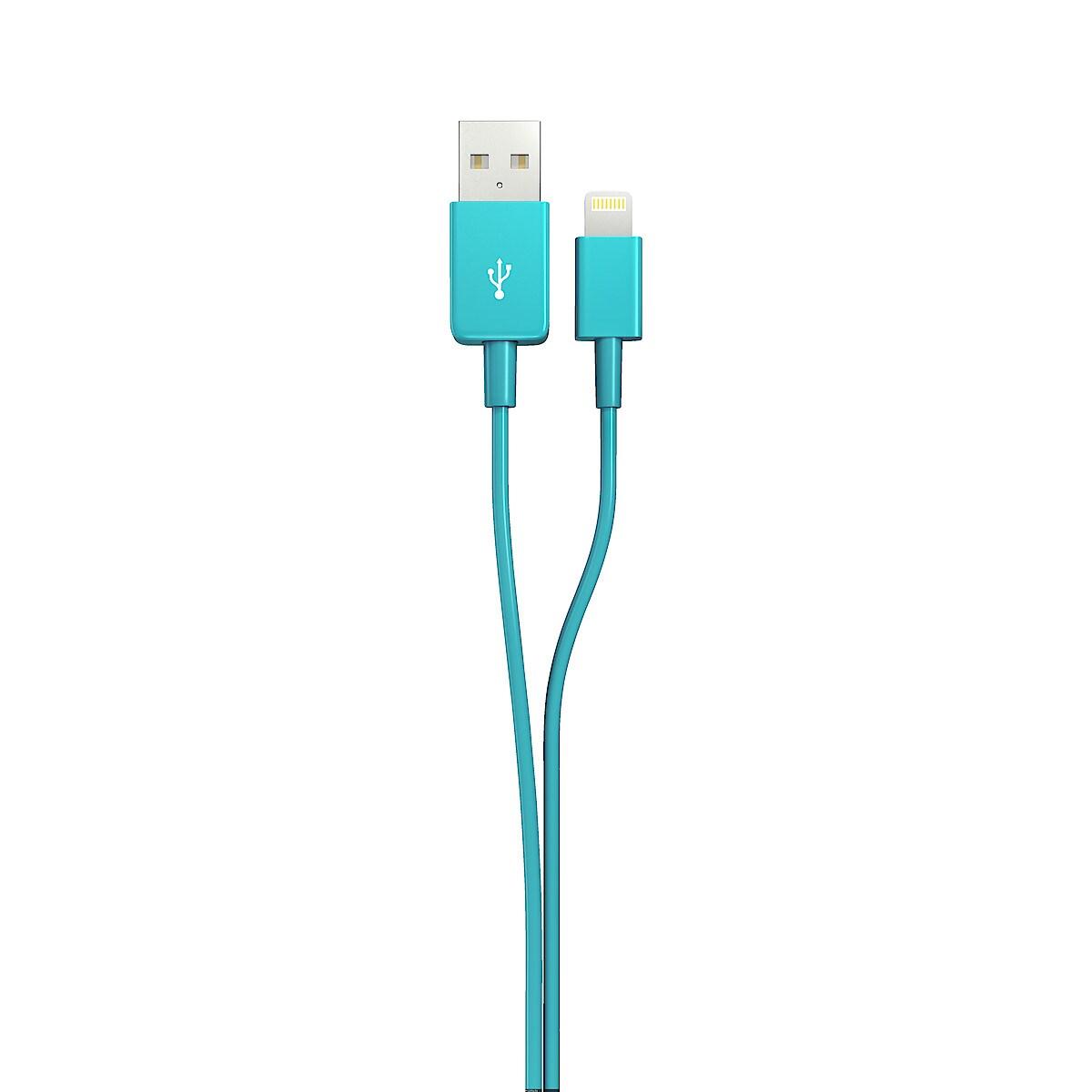 Latauskaapeli Lightning iPodille/iPhonelle/iPadille, Exibel