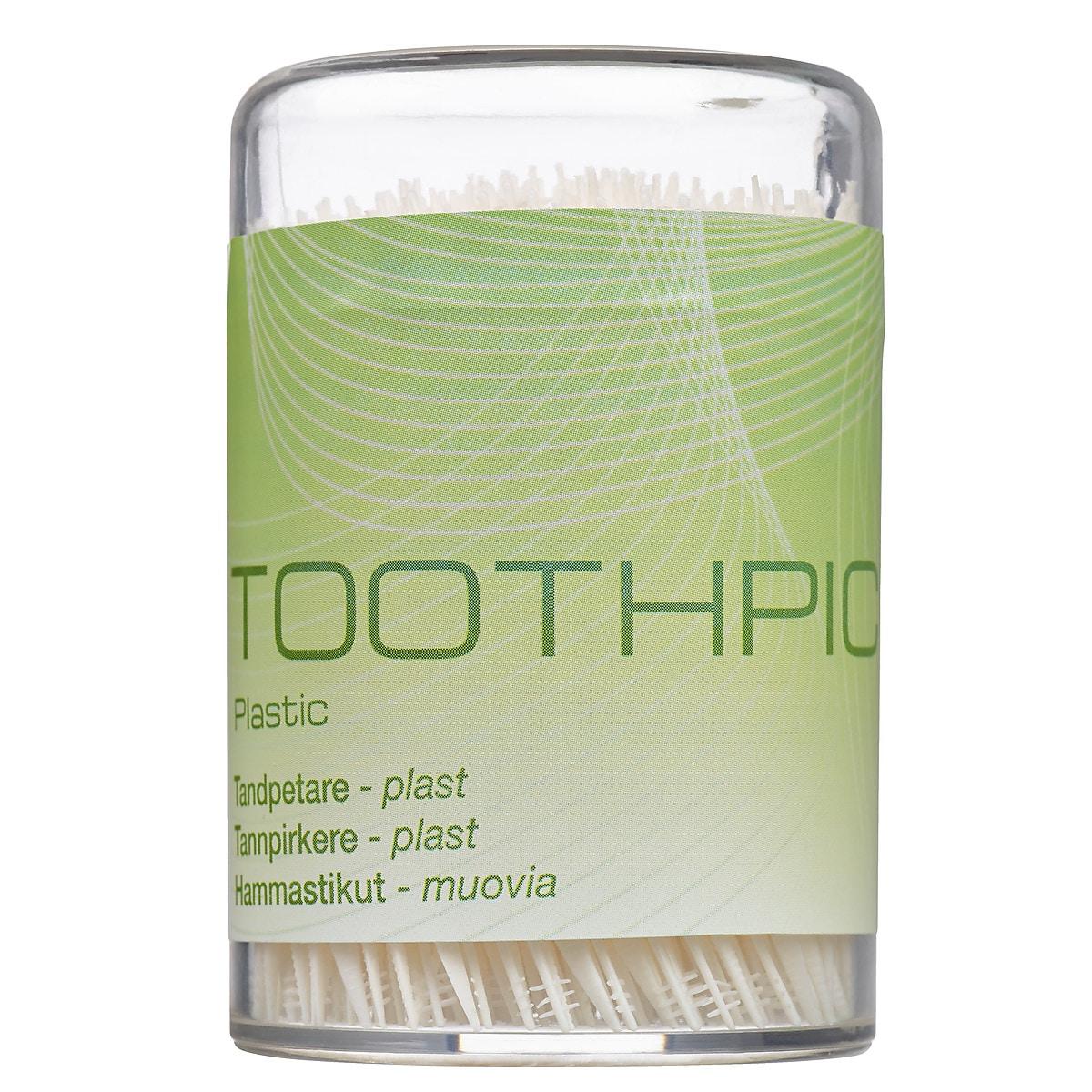 Tandpetare i plast 300-pack