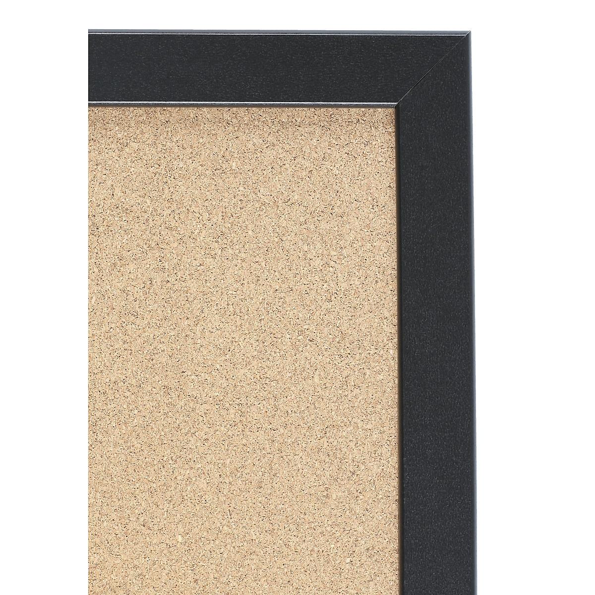 Oppslagstavle kork, 58,5 x 43 cm