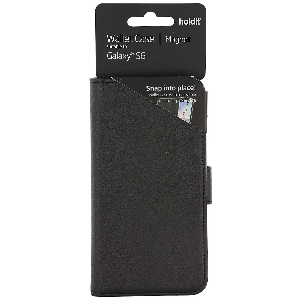 Lompakkokotelo Samsung Galaxy S6:lle, Holdit