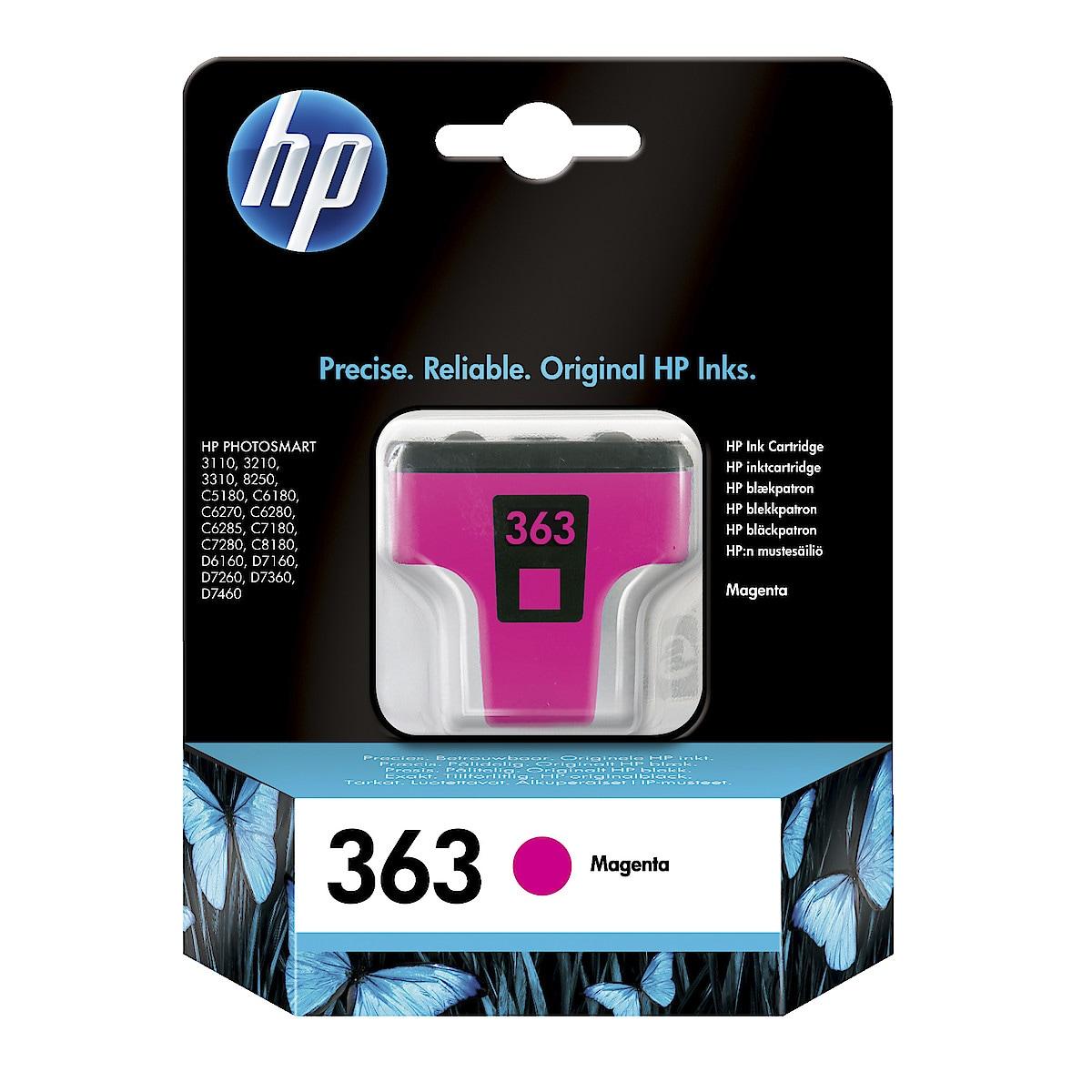 Mustekasetti HP 363
