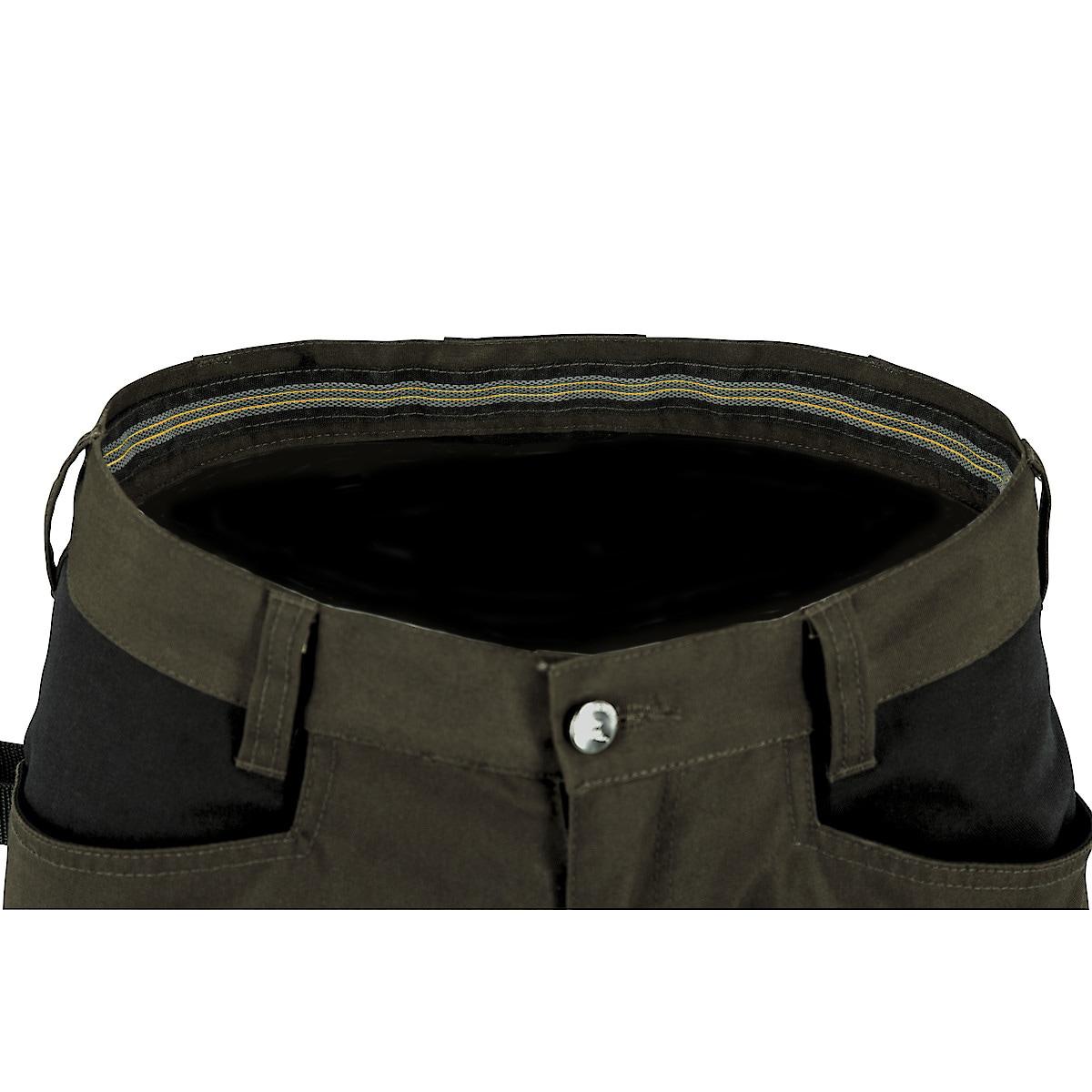 Arbeidsbukse stretch, grønn/svart