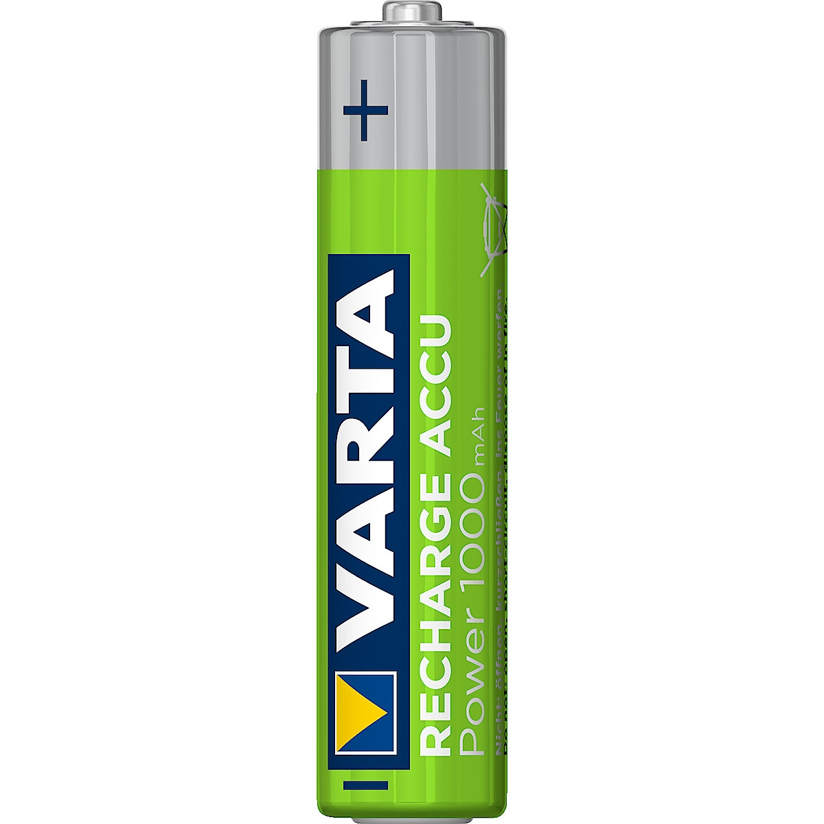 Varta Power ladbart batteri AAA/HR03, 1000 mAh