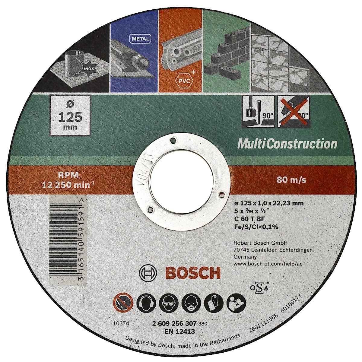 Kapskiva universal 125 mm Bosch