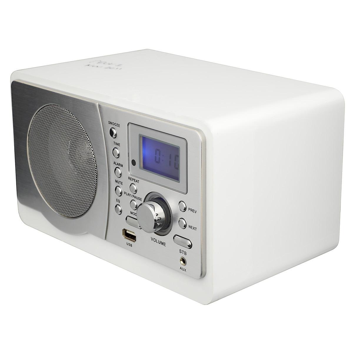 FM-radio med USB-anslutning