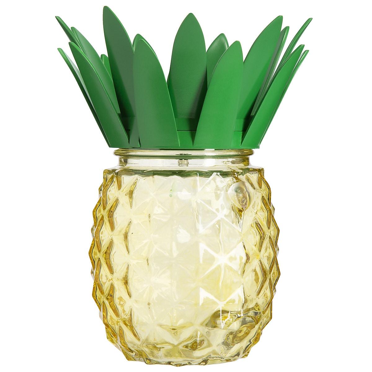 Solcellslykta Ananas