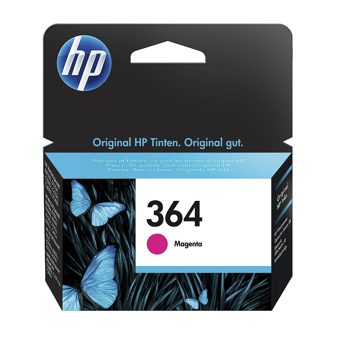 Mustepatruuna HP 364