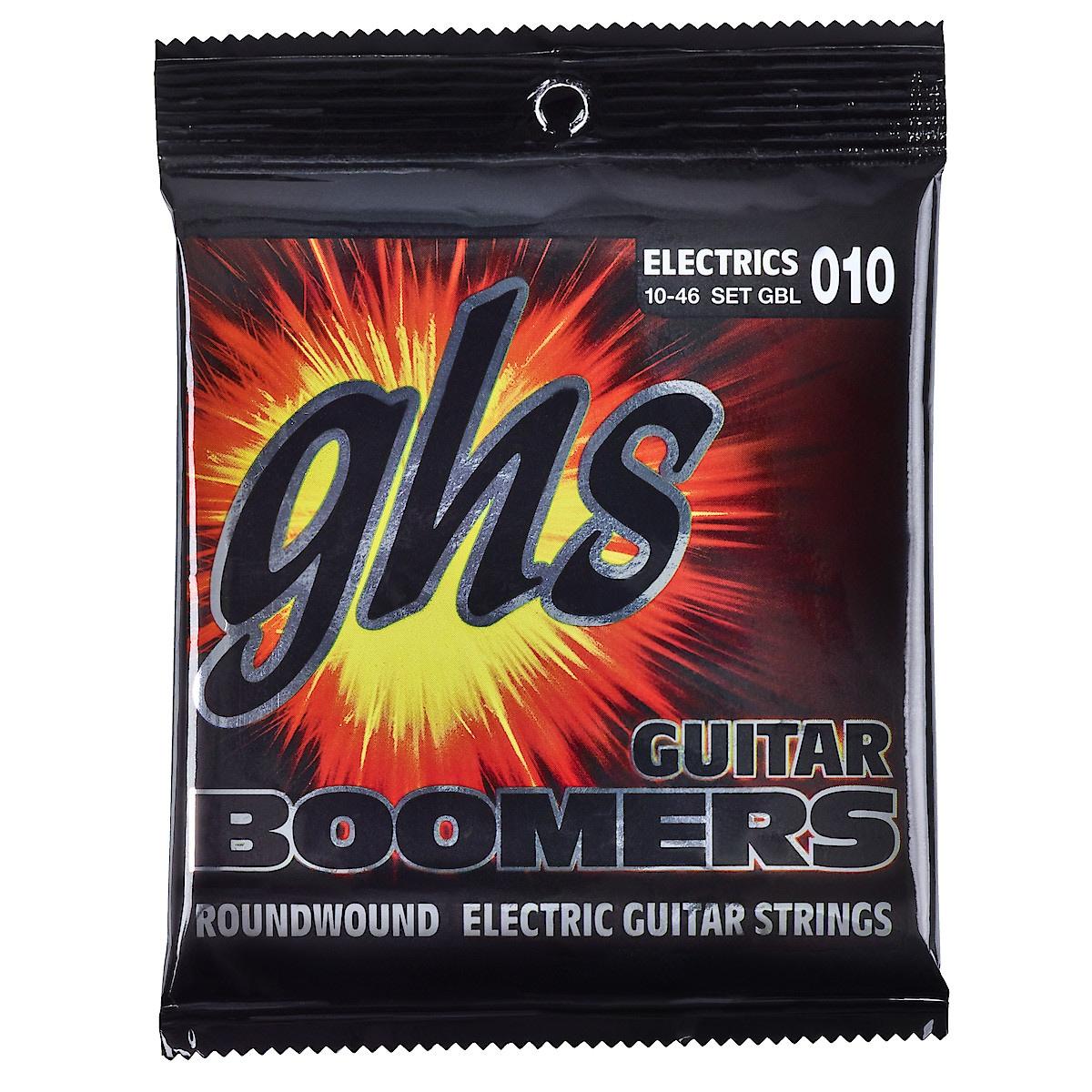E-Gitarrensaiten GHS Boomers