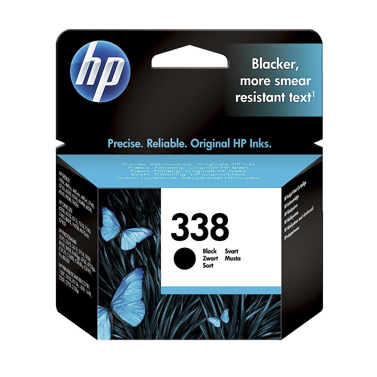 Mustepatruuna HP 338