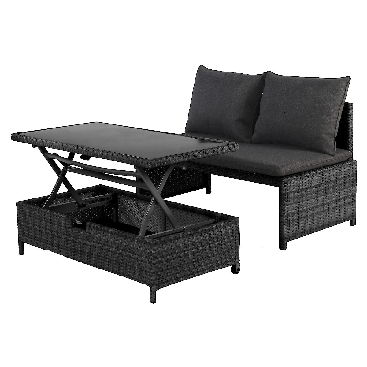 Garden Furniture Set, Sofa and Table