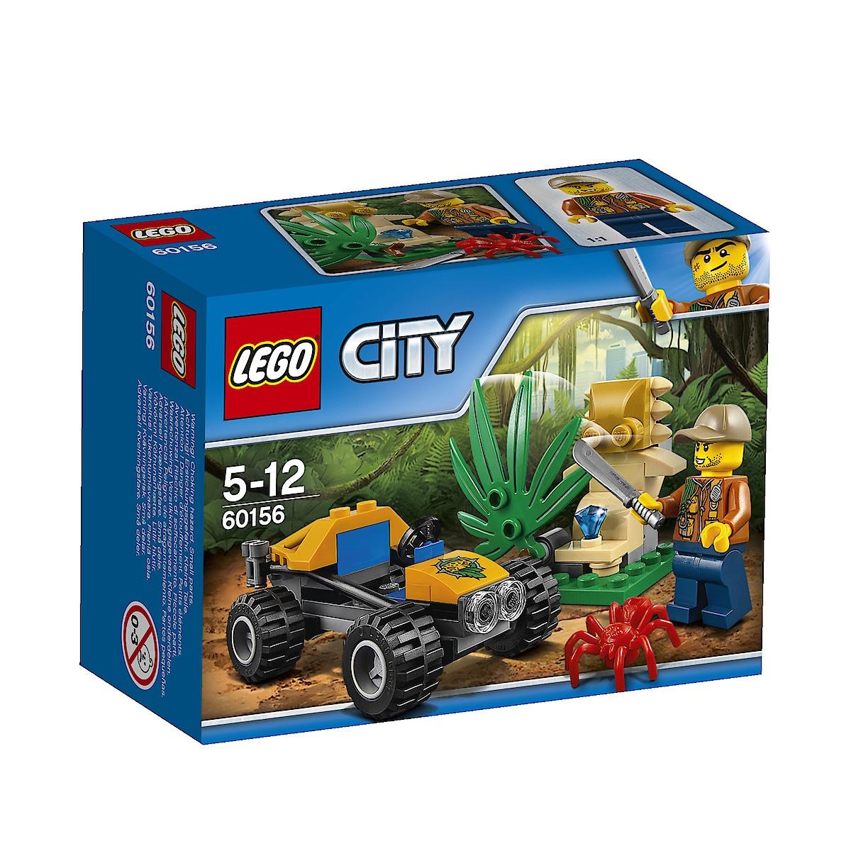 LEGO City Jungle Explorers 60156 Viidakkoauto