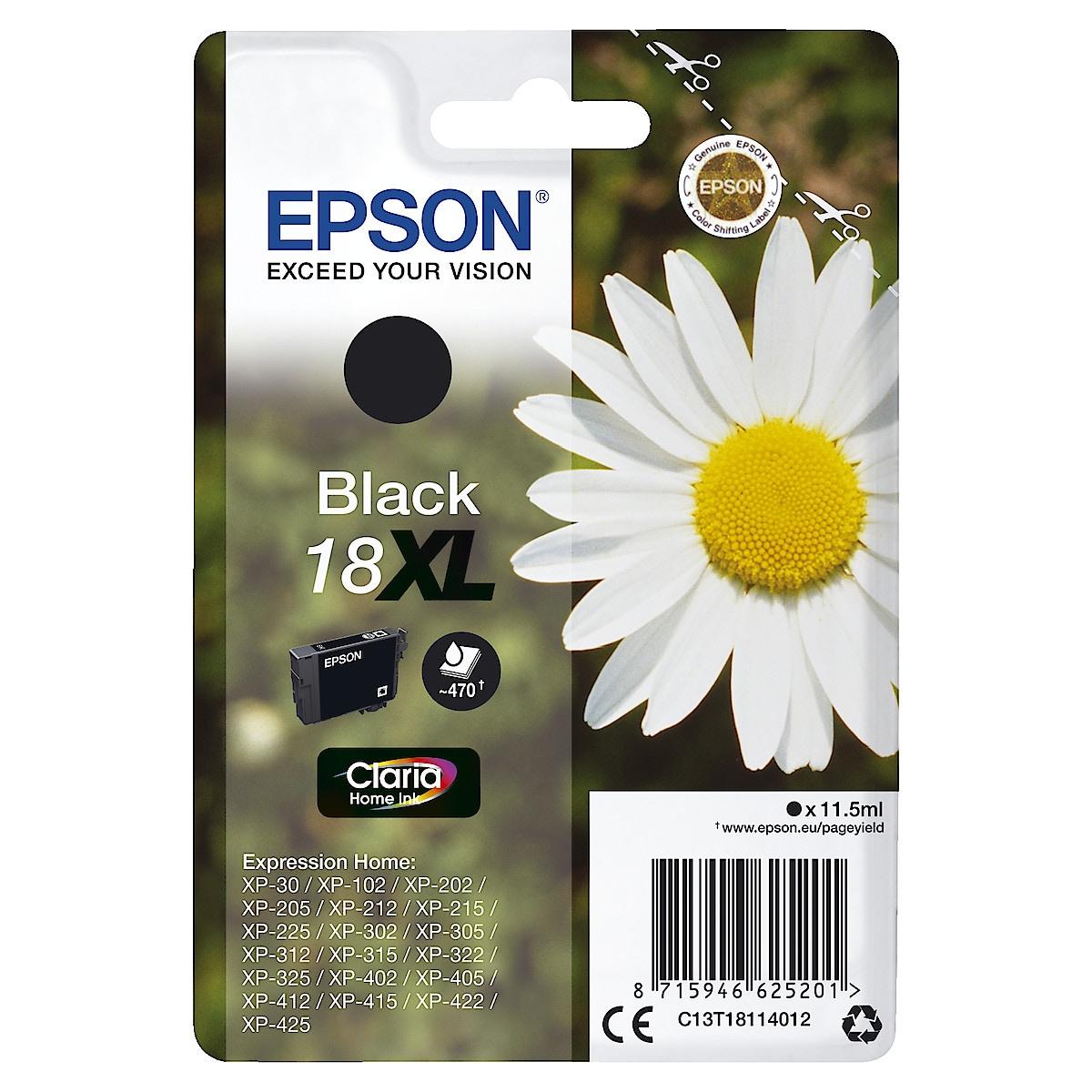 Bläckpatron Epson 18