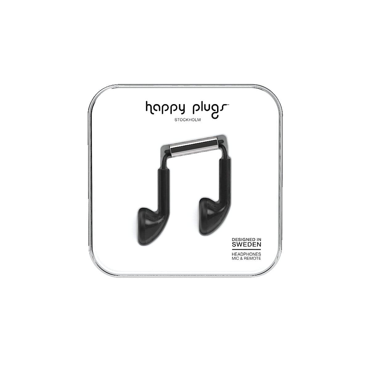 Hörlurar med mikrofon Happy Plugs Earbud Unik Edt