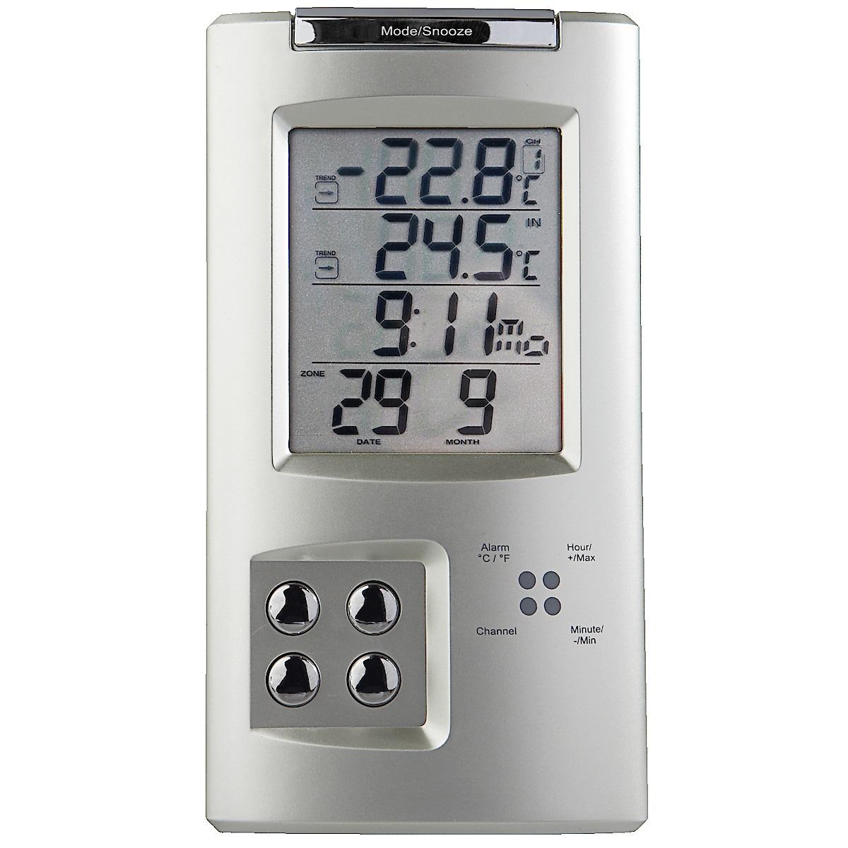 Trådløst termometer/hygrometer