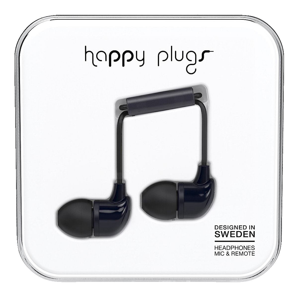 Hörlurar med mikrofon Happy Plugs In-ear