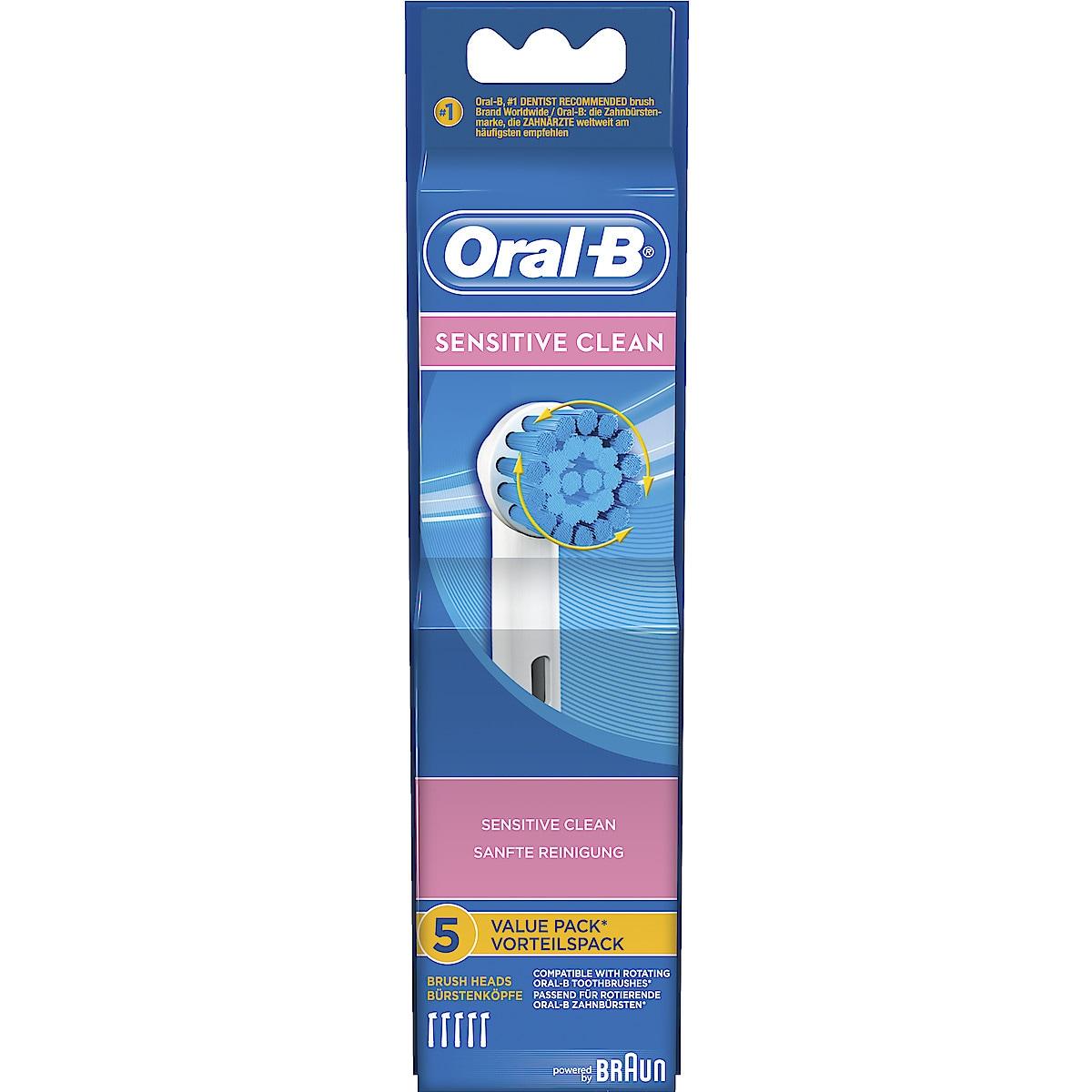 Oral-B Sensitive Clean Toothbrush Head Refills