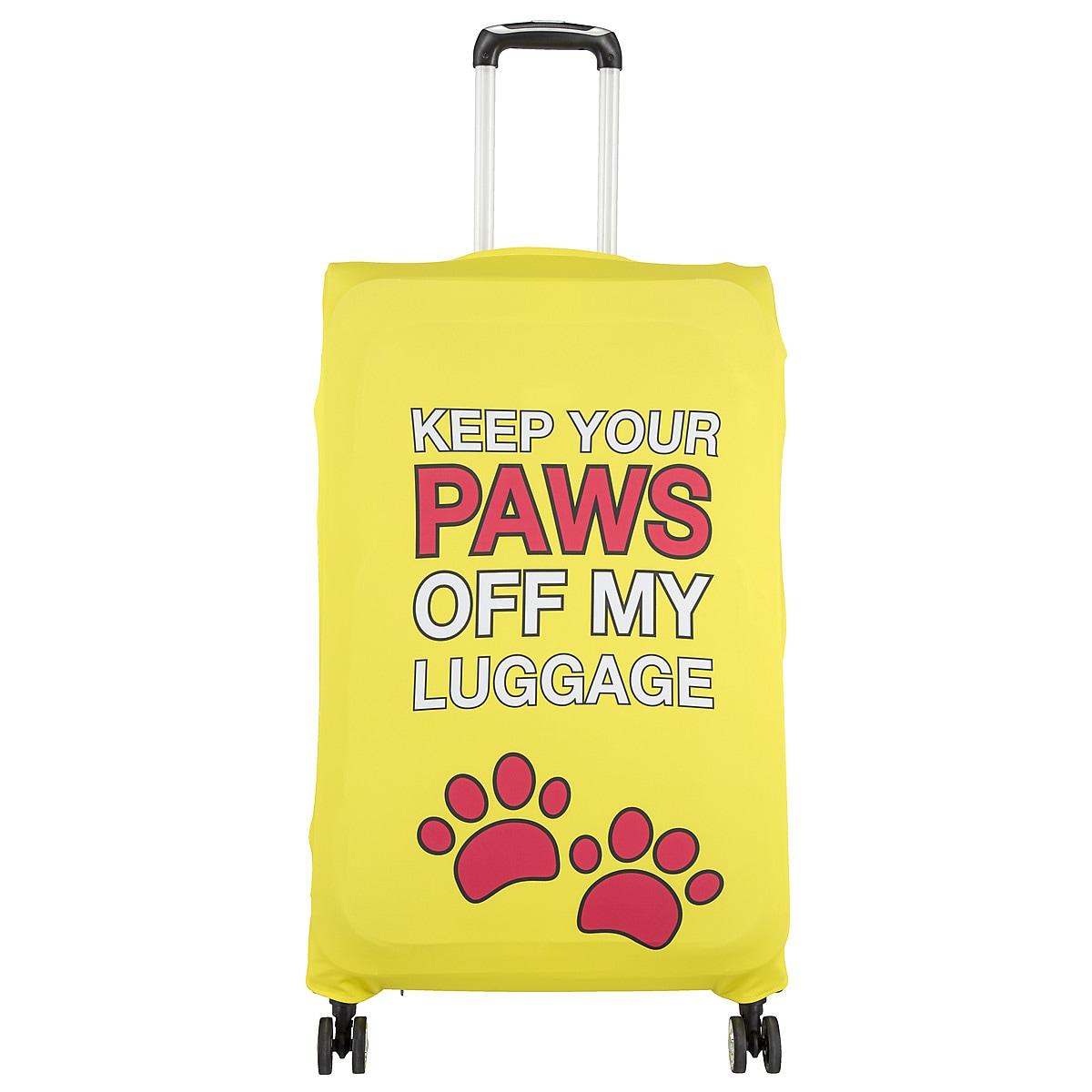 Överdrag till resväska Keep your paws off my luggage