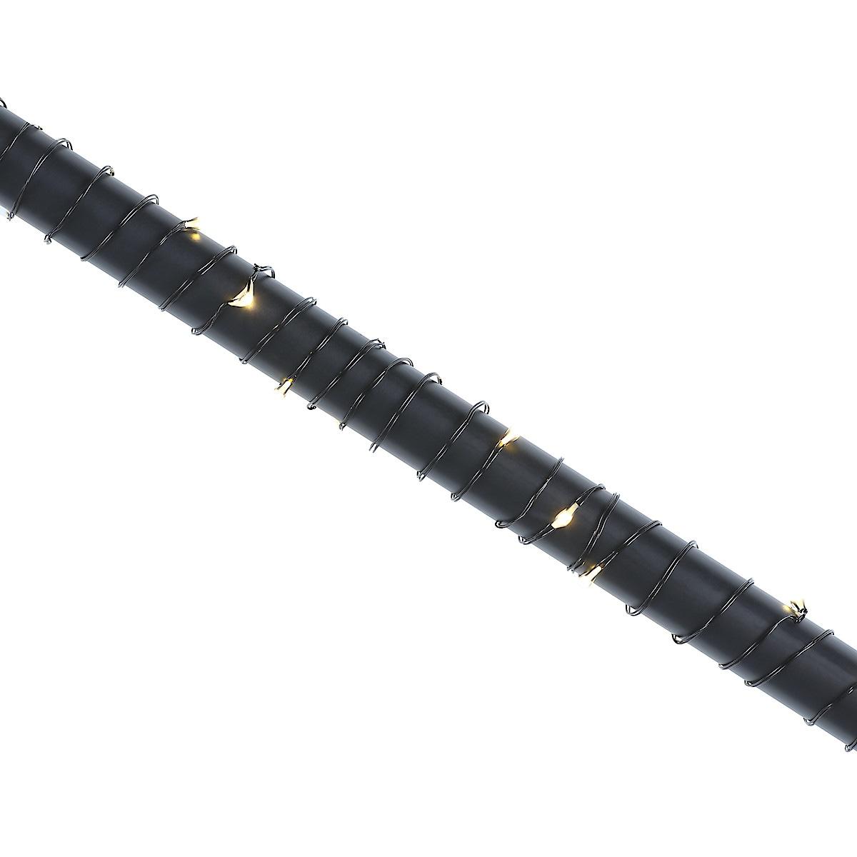 Ljusslinga i metall, 8  m
