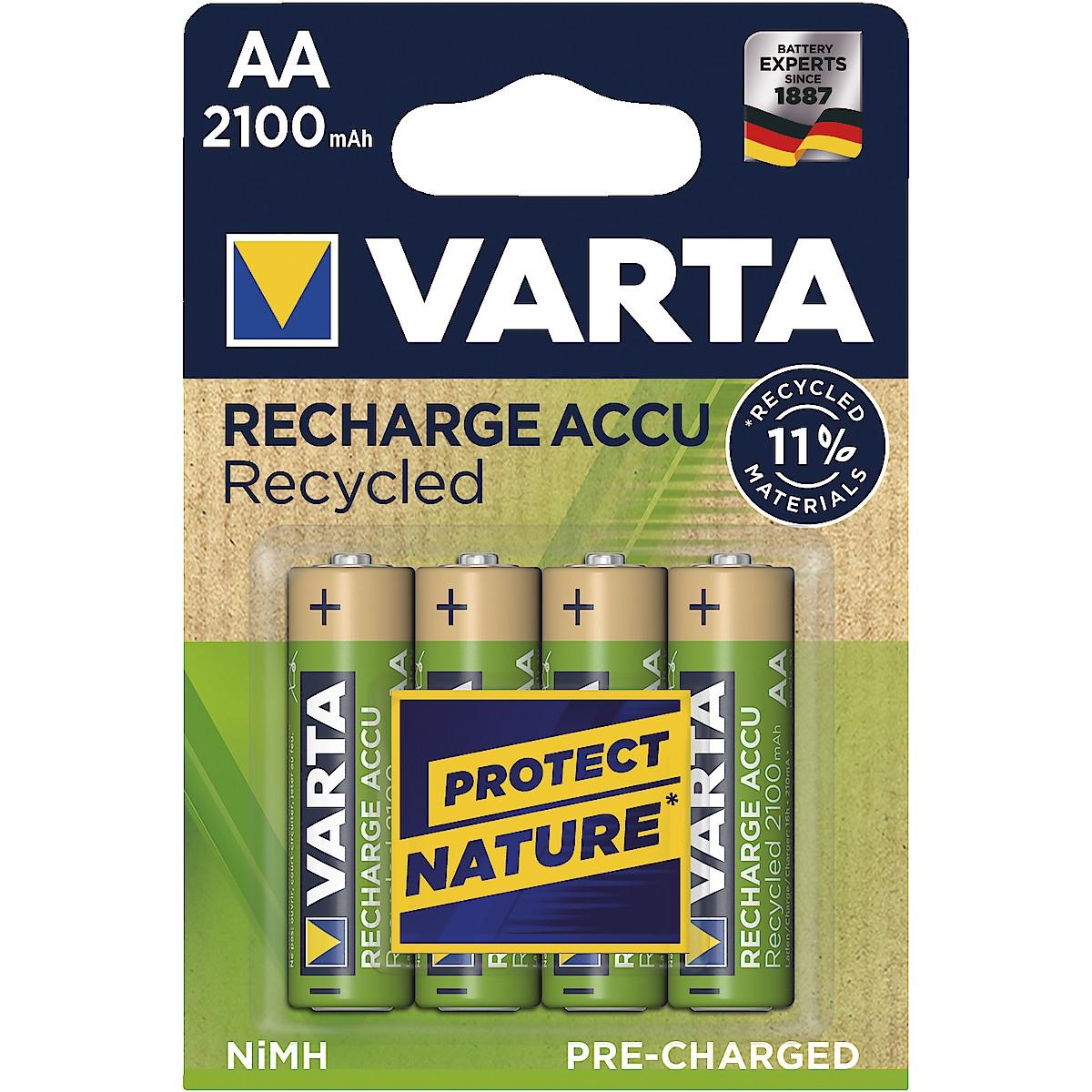 Akkuparisto AA/HR6 VARTA Recycled