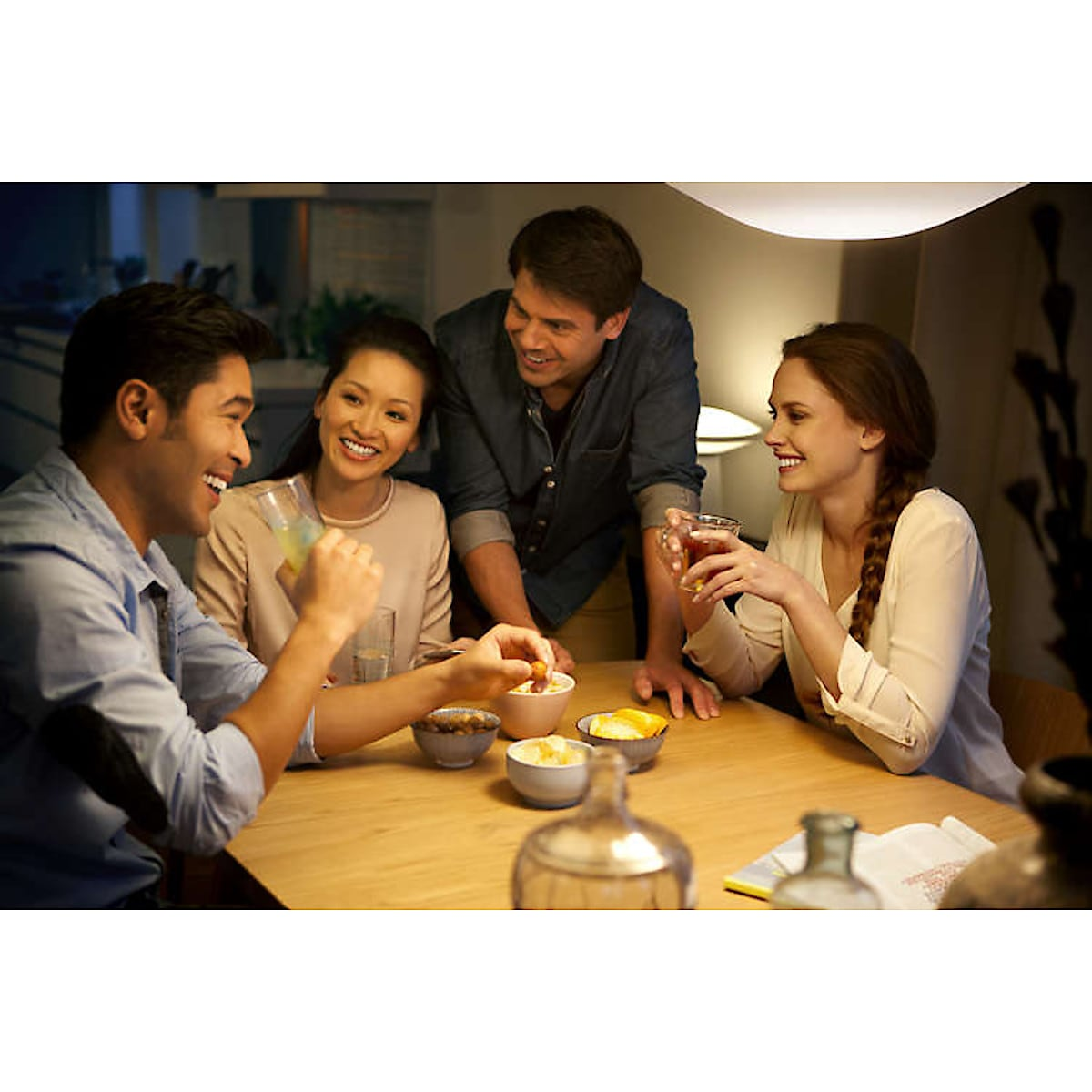Philips Hue Ambiance LED-pære 9,5 W E27, 2-pack