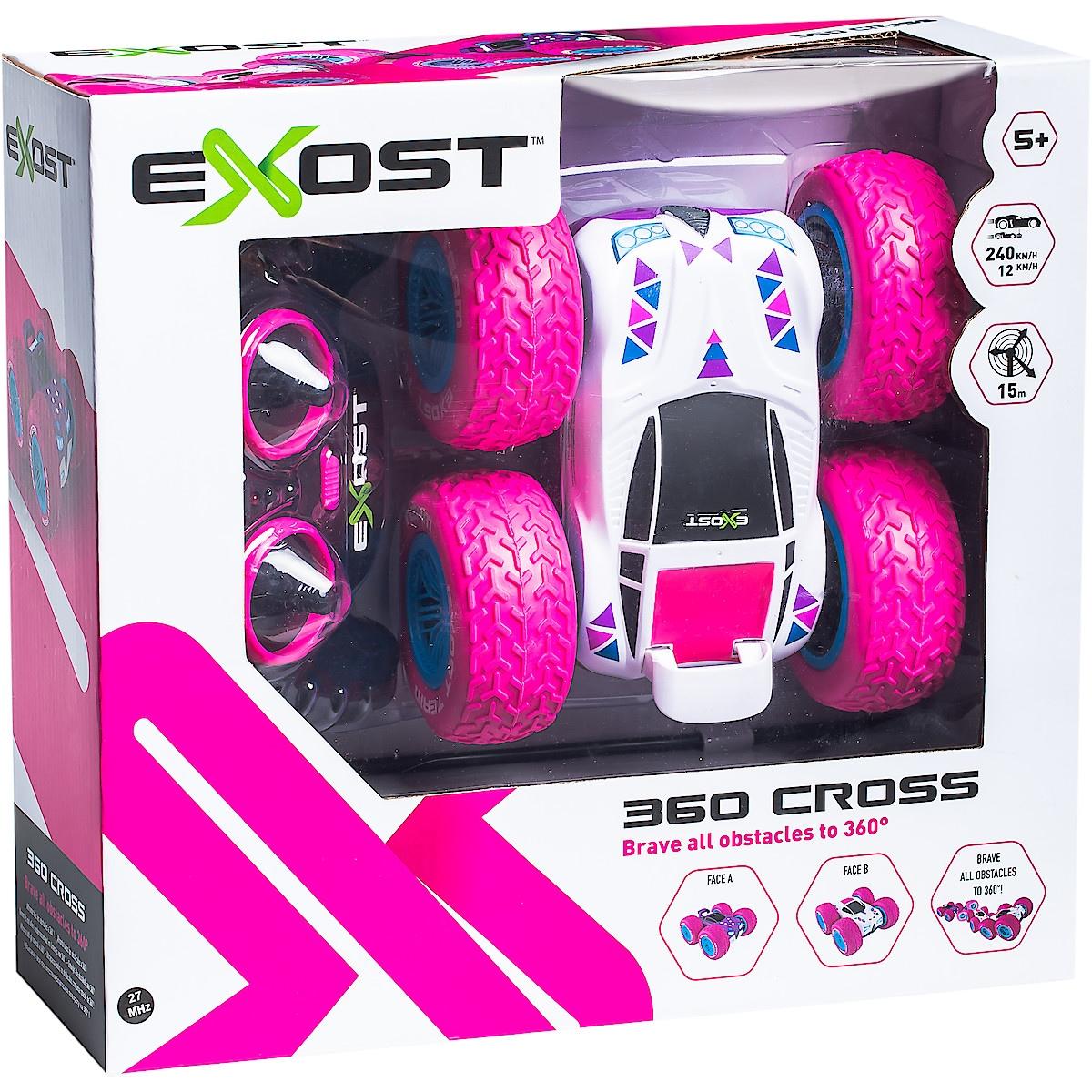 Silverlit Exost 360 Cross, radiostyrt stuntbil