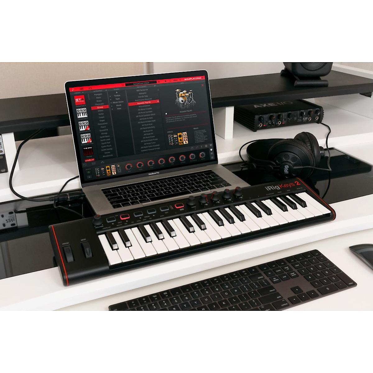 IK Multimedia iRig Keys 2 MIDI keyboard controller