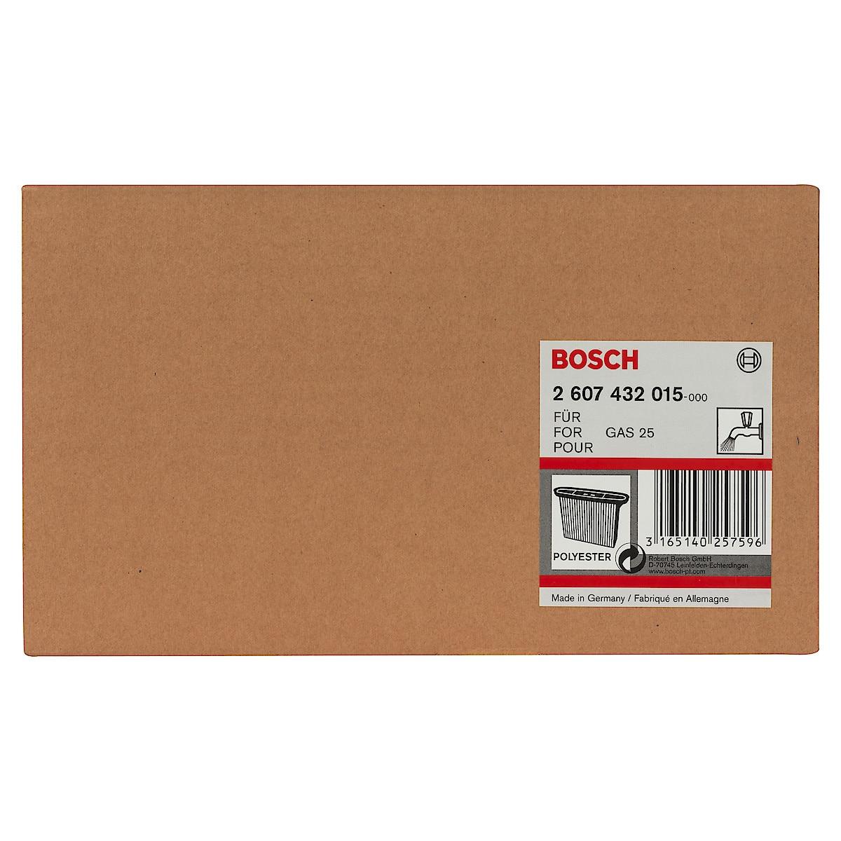 Bosch GAS 25 luftfilter