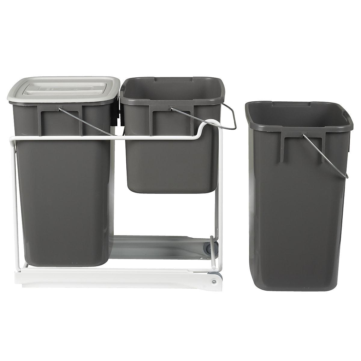 Kildesorteringssett til avfall, med uttrekk
