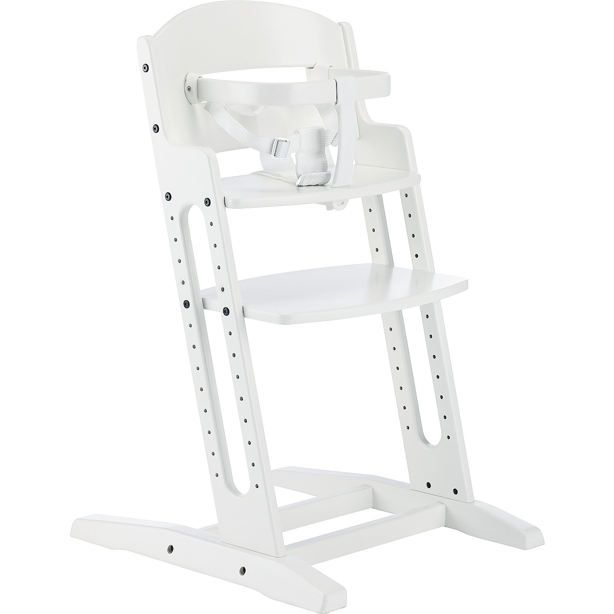 BabyDan High Chair, White