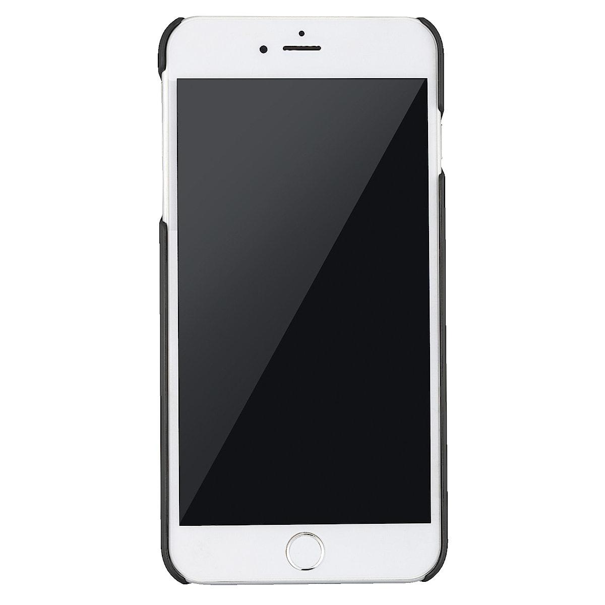 Cover für iPhone 8 Plus, Holdit Paris Lava Black Silk