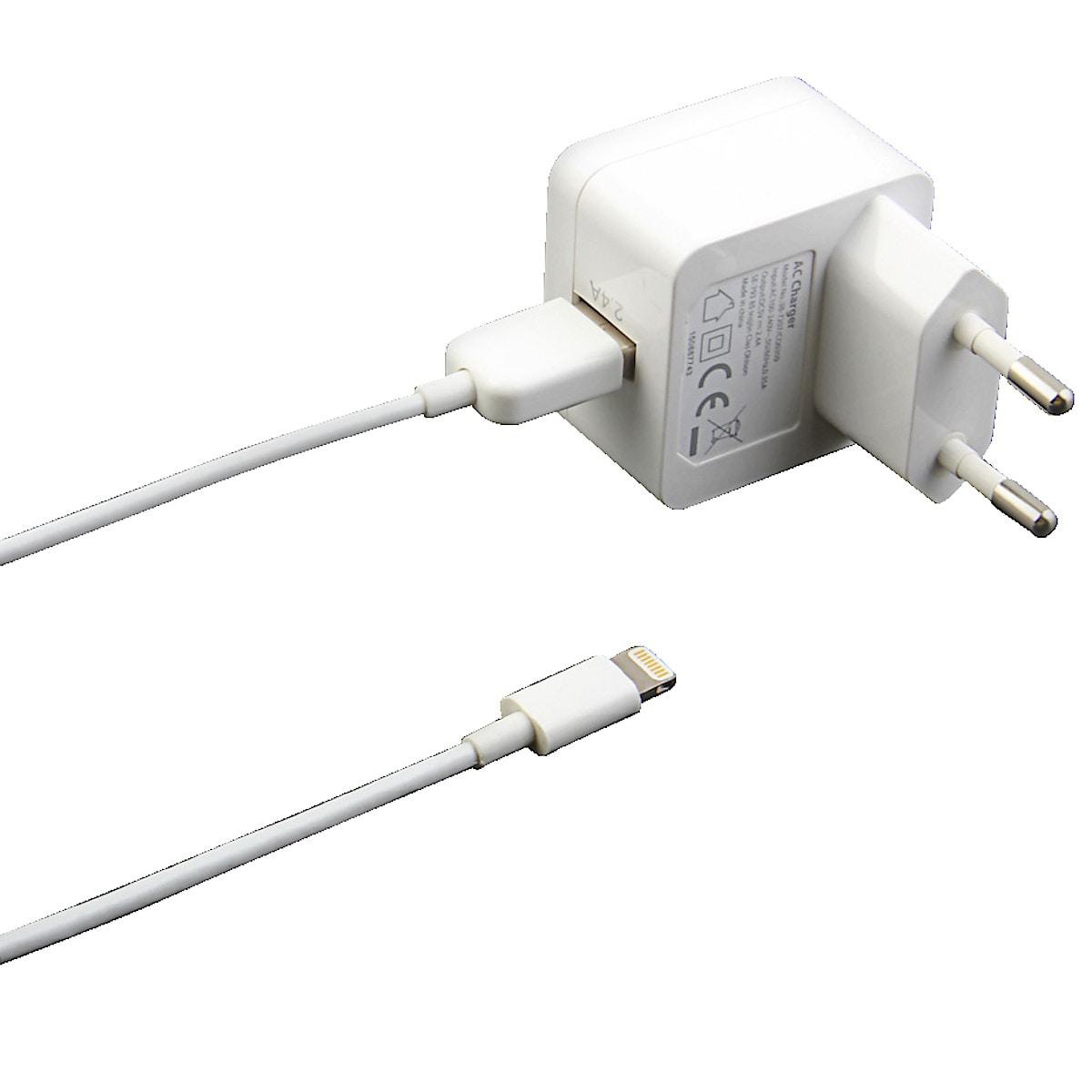 Laddare Lightning för iPodiPhoneiPad, Exibel till