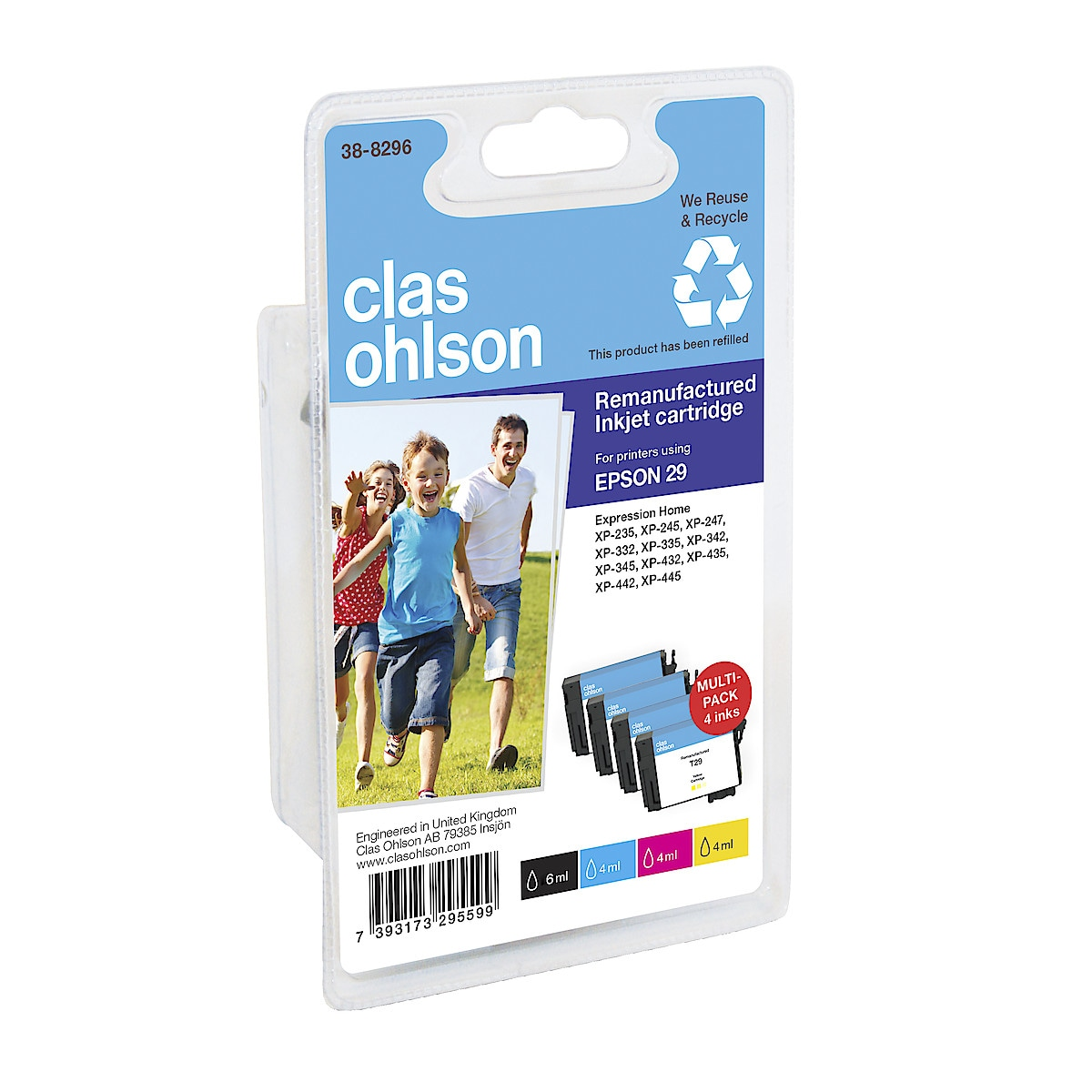 Clas Ohlson blekkpatron Epson 29